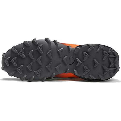 da MOIKA ginnastica Atletica da Scarpe aperta da Sneakers Scontate Scarpe Trekking Sport corsa all'aria trekking Scarpe Grigio Uomo CA8qCrw