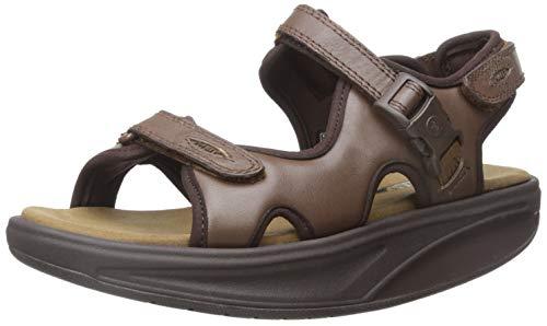 MBT Women's Kisumu 3s Walking Shoe, Brown, 38 EU/7-7.5 M US