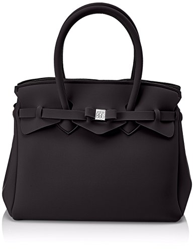 W x Borsa Miss my x 34x29x18 H a Nero L Donna cm Mano bag save w7zqnTwa