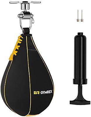 Gymrex Pera De Boxeo para Entrenamiento GR-SB 710 (Pera de Cuero ...