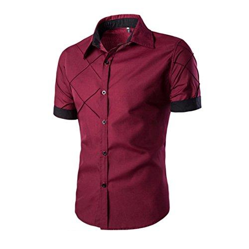 photno-fashion-men-boy-summer-slim-fit-short-sleeve-dress-shirt-casual-cotton-t-shirt-xxl-red