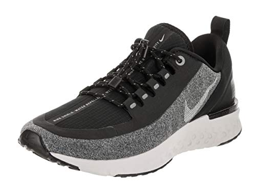 (Nike Women's Odyssey React Shield Running Shoe, Black/White/Cool Grey, Size 7.0)