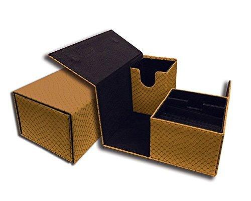 Vault - Dragon Hide Gold Deckbox