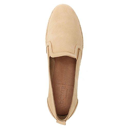 Pelle Espadrillas Scamosciata Daniel Mocassino Di Beige Shirlington Leather In zHww1Iq