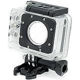 QUMOX caisson boîtier étanche pour SJ5000 SJ5000+ plus sport caméra Helmetcam