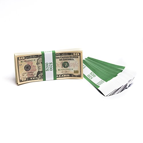 Barred ABA $200 Currency Band Bundles (500 Bands)