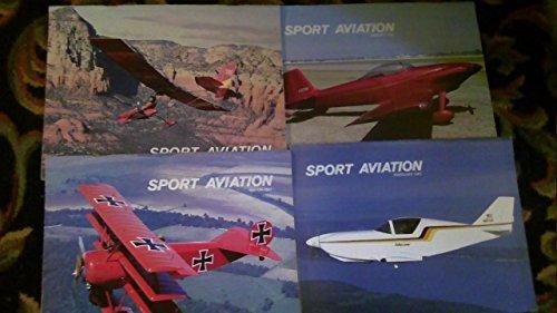 Sport Aviation Magazine, Experimental Aircraft Assn  4 issues
