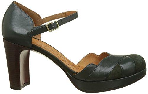 Chie Mihara Tash-c, Scarpe con Cinturino alla Caviglia Donna Verde (Ante Hunt-tailu Verde Ante Hunt-tailu Verde)