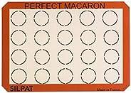 Silpat Perfect Macaron Tapete antiaderente de silicone para assar, 29 cm x 41 cm