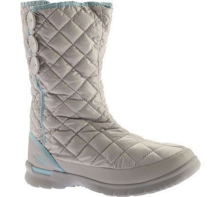 The North Face Women's Thermoball Button Boot Shiny Dove Grey/Stratosphere Blue (Prior Season)