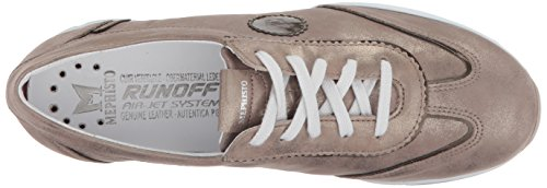 Dark Taupe Mephisto Yael Women's Oxford qwaWxztSIC