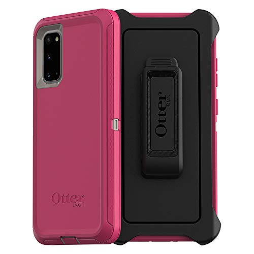 OtterBox DEFENDER SERIES SCREENLESS EDITION Case for Galaxy S20/Galaxy S20 5G – LOVE BUG (Raspberry Pink) (DOVE…