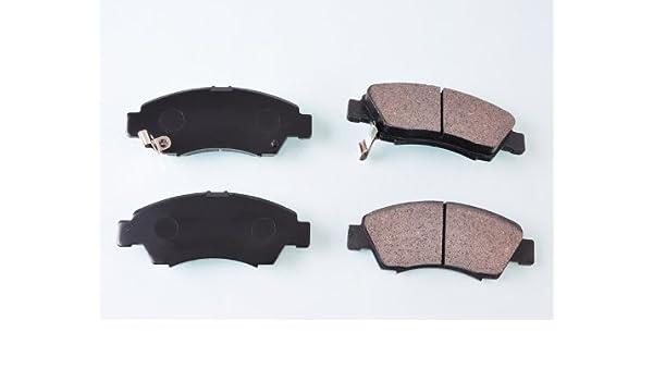 02eac0d9e3 Amazon.com: Wotefusi Car New 4 Pieces Front Semi Metallic Brake Pads ...