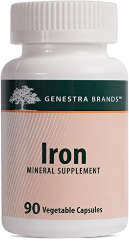 Genestra Brands - Iron - Mineral Supplement - 90 Vegetable Capsules (Iron 90 Vegetable Capsules)