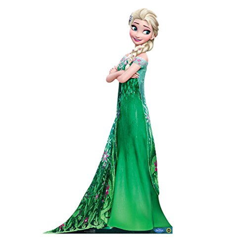 Elsa - Disney's Frozen Fever - Advanced Graphics Life Size Cardboard (Frozen Halloween Ideas)