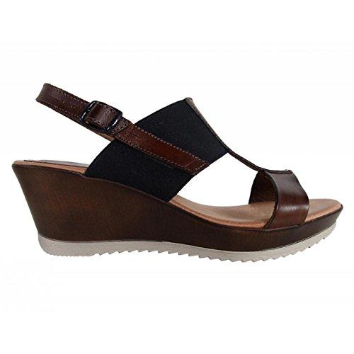 Zapatos de cuña de Mujer CUMBIA 30126 NUEZ-MARINO