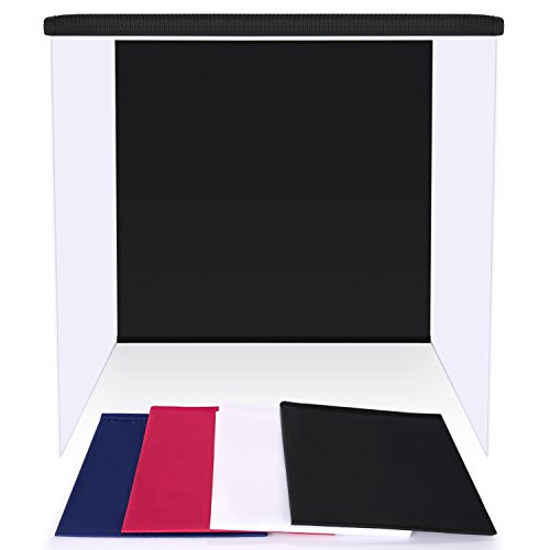 Neewer 20''x20''/50x50cm Table Top Photo Photography Light Tent Studio Square Light Box with 4 Backgrounds by Neewer (Image #1)