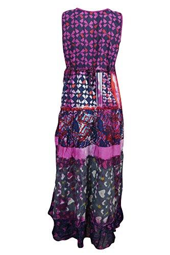 Mogul Interior - Vestido - Noche - para mujer Pink, Blue
