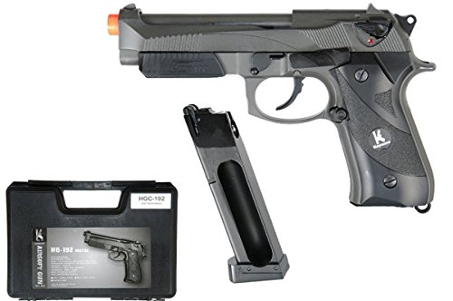 (Keymore HFC HGC-192 CO2 Powered Tactical Airsoft Pistol w/ Blowback - Semi)