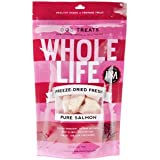 Whole Life Pet Pure Meat All Natural Freeze Dried 100% Salmon, 1oz., My Pet Supplies