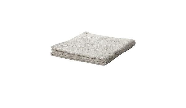 IKEA HAREN - toalla de mano, de color gris claro - 50x100 cm: Amazon.es: Hogar