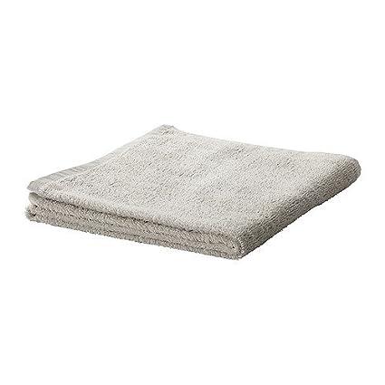 IKEA HAREN - toalla de mano, de color gris claro - 50x100 cm