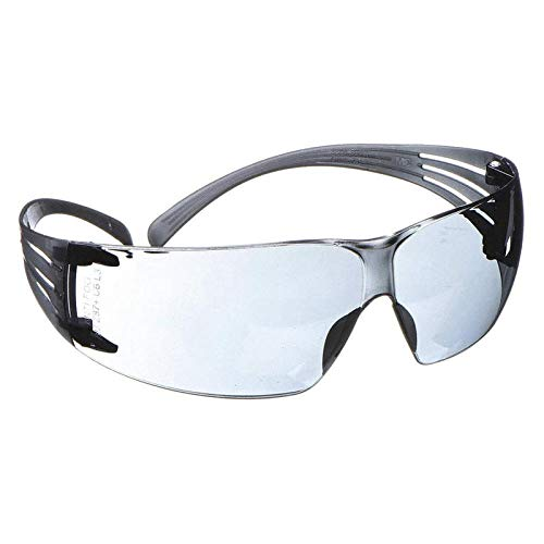 3M S1201SGAF Premium Protective Eyewear Safety Glasses With Clear Anti-Fog Lens