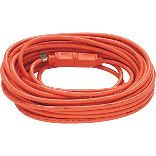 US Wire and Cable 63025 Extension Cord, 25ft, Orange