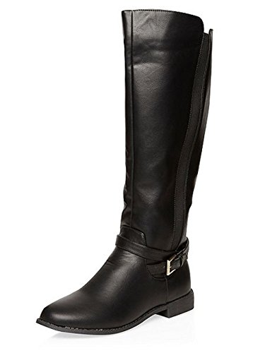 Gusset Perkins Dorothy Hanging Tahiti Long Boots Black ZXqz6