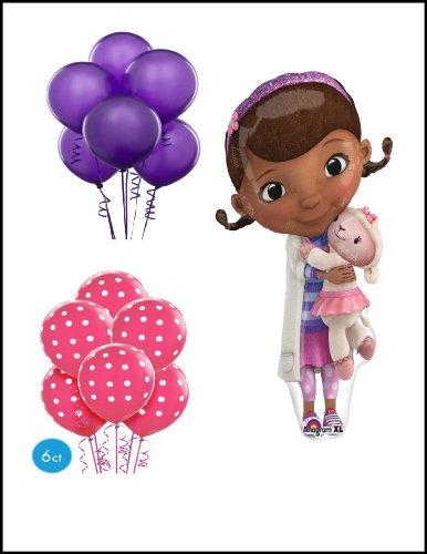 Doc Mcstuffin Ballon Bouquet Party Supply]()