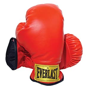 Well-Being-Matters 41S1K6XTWRL._SS300_ Everlast Laceless Gloves (Red, Small)