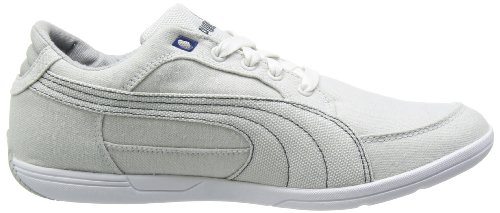 Puma - Plano Interest NM - Color: Blanco-Gris - Size: 42.5