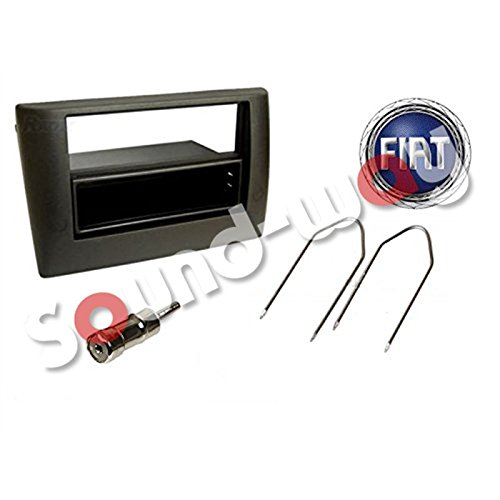 Single or double din car stereo radio facia adapter Fiat Stilo 1 / 2 din Sound-way