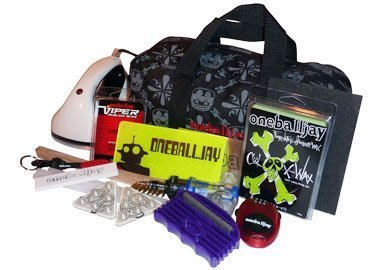 OneBall Jay World Domination Kit ~The Ultimate Ski/Snowboard Tune Kit with Iron and Wax by One Ball Jay