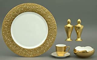 product image for Pickard Metropolitan Gold Demitasse Cup and Saucer