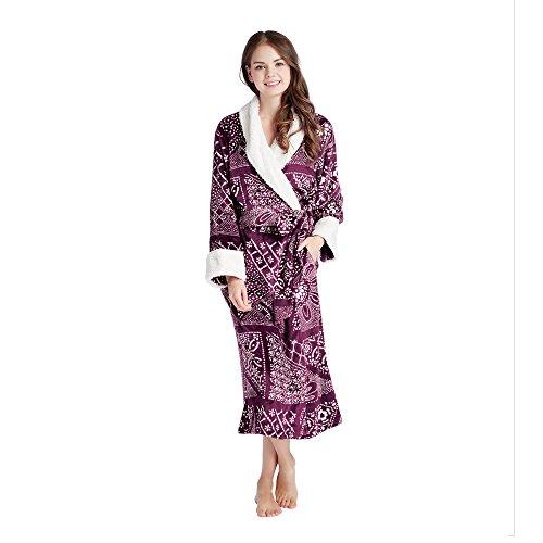 Ink and IVY – Wrap Robe – For Women – Batik Print - Small/Medium – - Wrap Cotton Batik