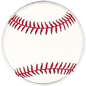 Application Sports Pleather Baseball Patch