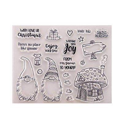 zk. Nesi DIY Clip Art Craft di Album di Natale Fai da Te in Silicone Trasparente Stamp Fresh Seal Scrapbook Album Goffrato Decorazione * 1 ZK.Nesi