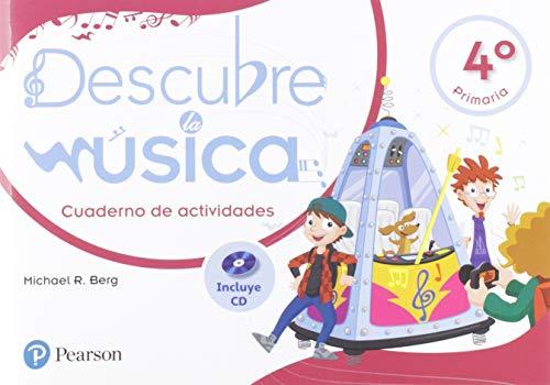 Descubre la música 4 pack cuaderno de actividades por Michael R. Berg