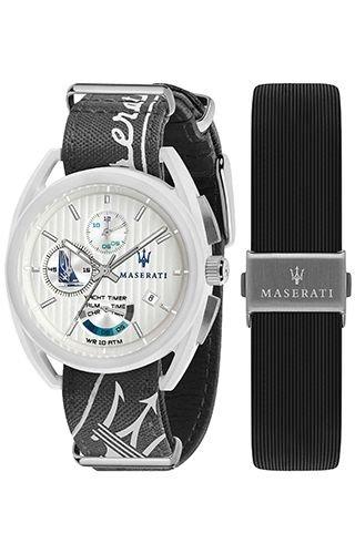 (Maserati R8851132002 Grey Fiberglass Man Watch)