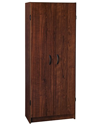 ClosetMaid 1308 Pantry Cabinet, Dark Cherry Kitchen Storage Pantry Cabinet