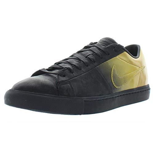- Nike Mens Blazer Low SP/Pedro Lourenco Black/Metallic Gold Leather Size 10.5 Athletic Sneakers