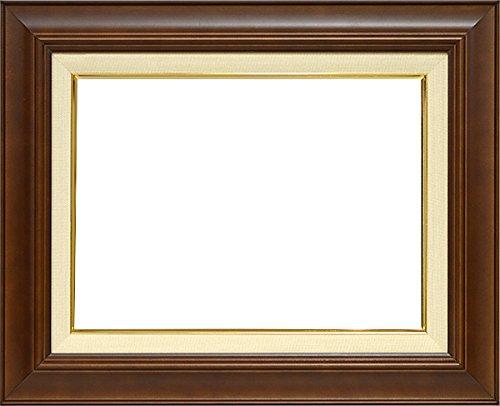 大額 油絵用額縁 7720/ブラウン F10(530×455mm) ガラス B01AJ6FM98