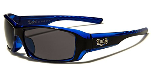 Locs Two Tone Original Gangsta Shades Fashion Statement Translucent Frame Sunglasses (Dark Locs Sunglasses compare prices)