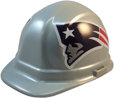 Texas American Safety Company NFL New England Patriots Hard Hats with Ratchet Suspension 1