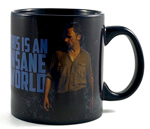 Top walking dead rick grimes coffee mug