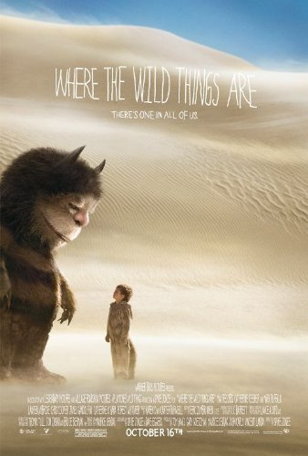Where The Wild Things Are Regular Movie Poster Double Sided Original