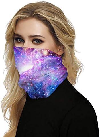 Multifunctional Rave Bandana Men and Women Mask Dust Wind UV Sun Bandana Seamless Dust Mask