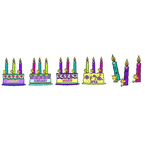 EUREKA PEANUTS BIRTHDAY BULLETIN BOARD SET (Set of 3)