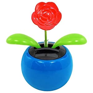1 X Solar Dancing Flower - Rose 42
